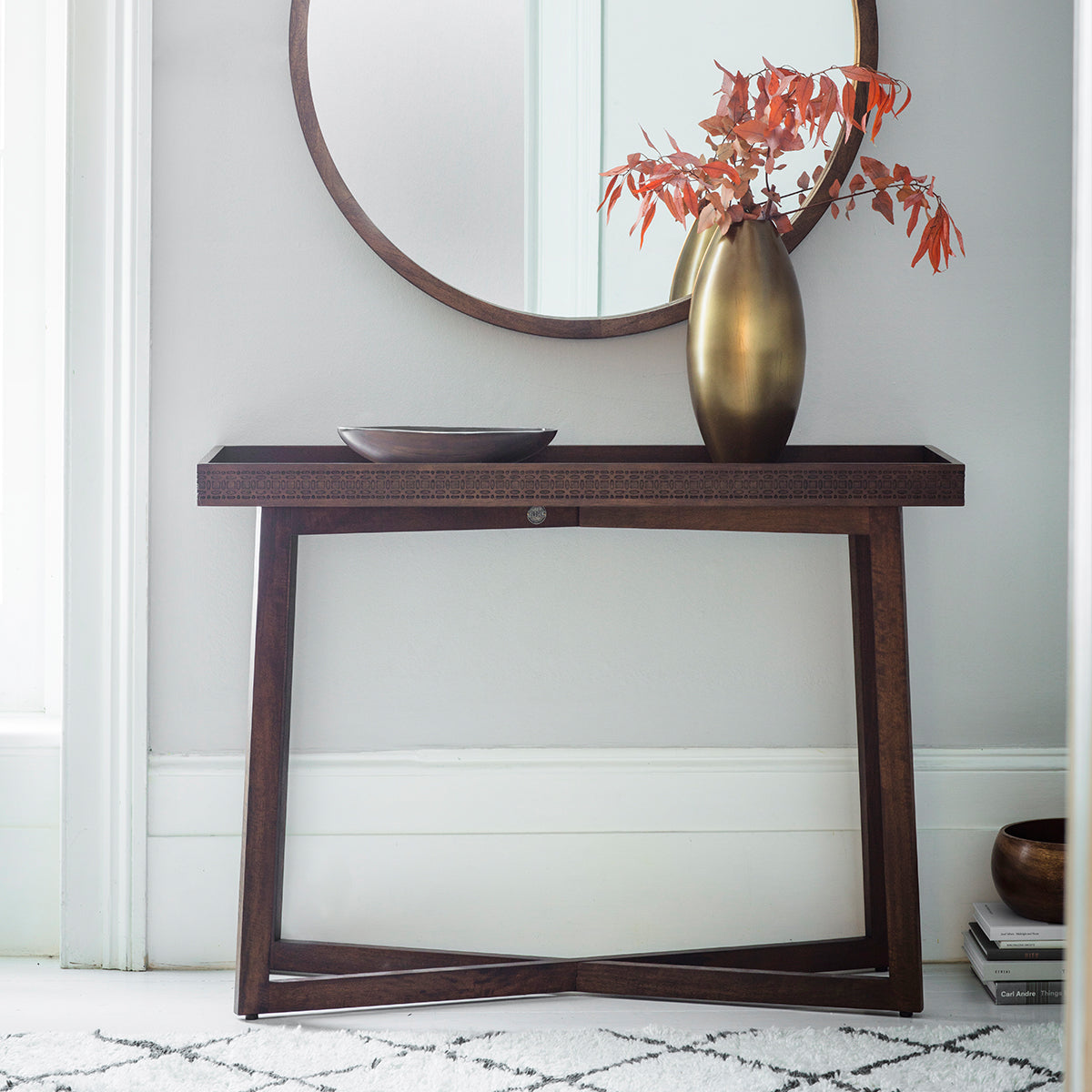 Greenwich Console Table in Natural