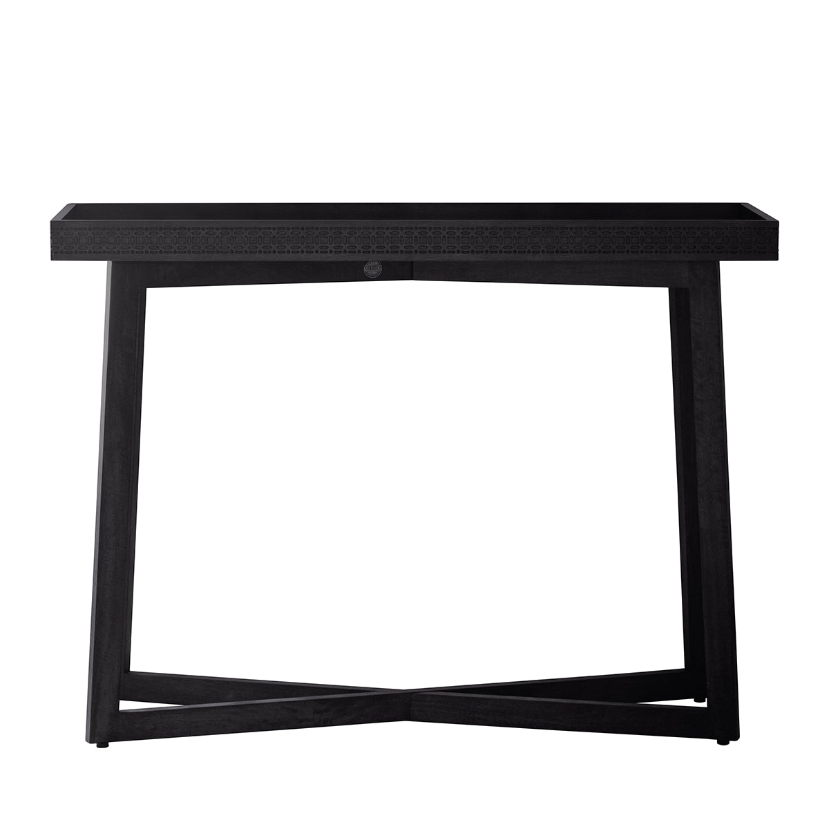 Greenwich Console Table in Matt Charcoal - Ezzo