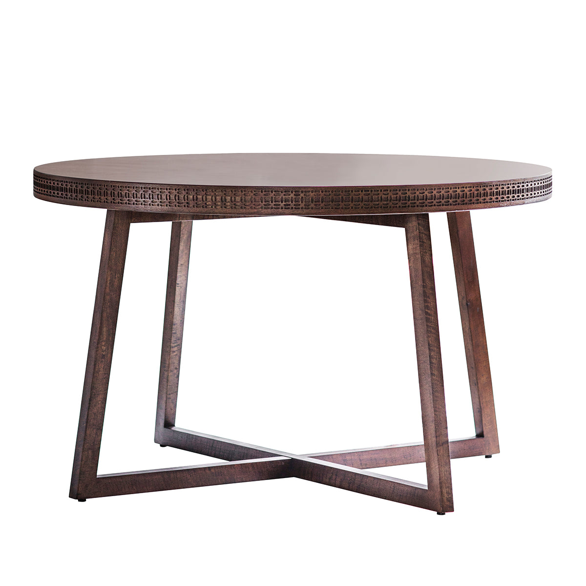 Greenwich Round Dining Table in Natural - Ezzo