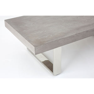 Grey Elm Wood Coffee Table