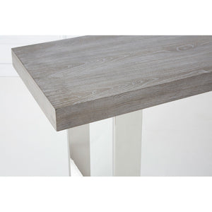 Grey Elm Wood Console Table