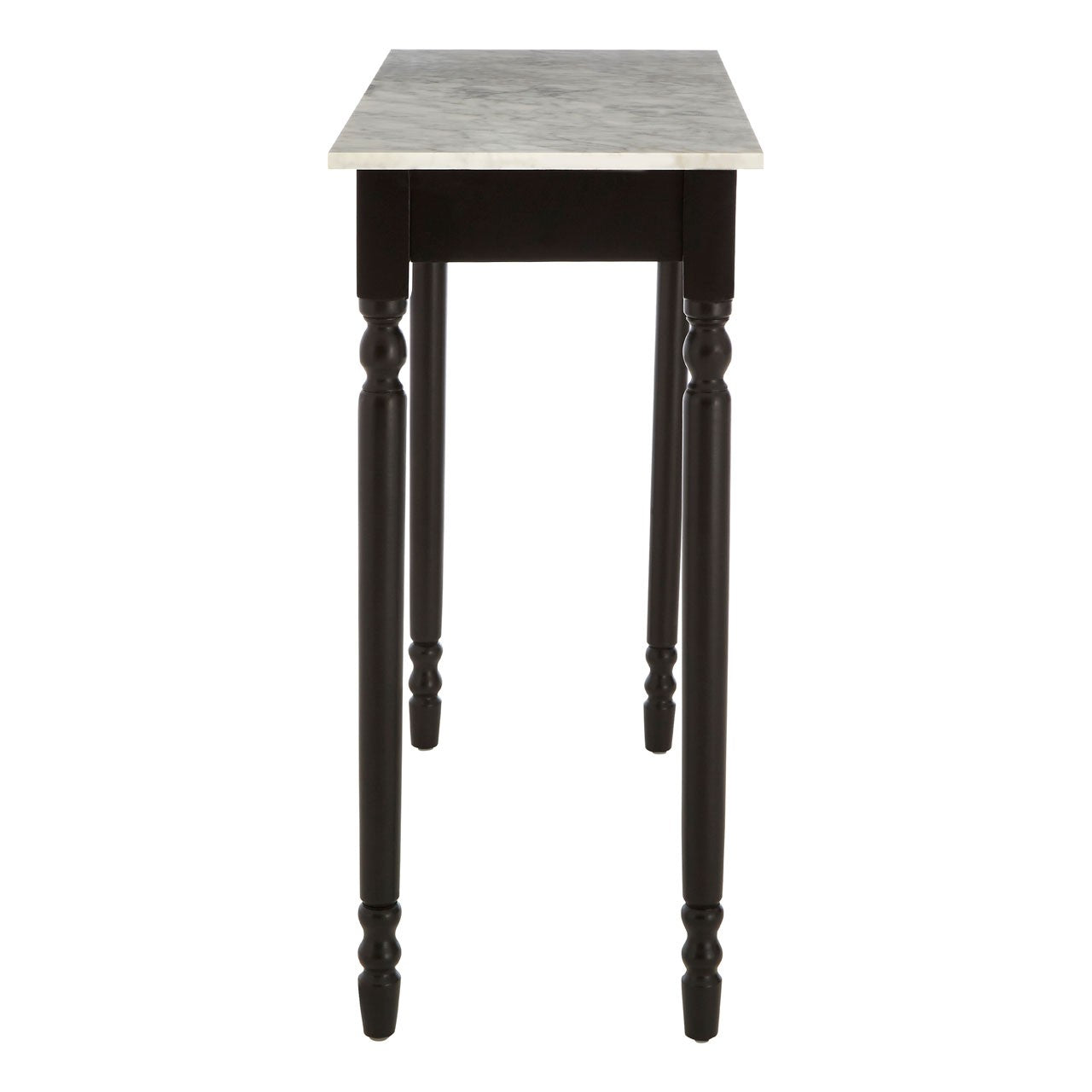 Henley Black Frame Console Table