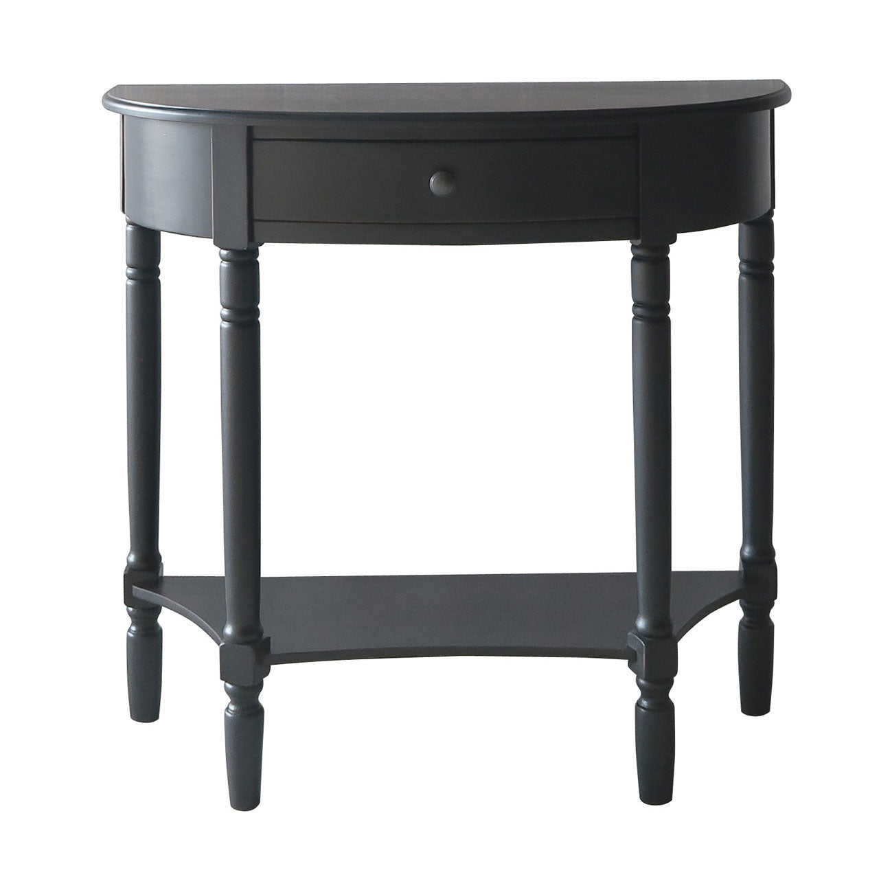 Heritage Semi Circular Console Table