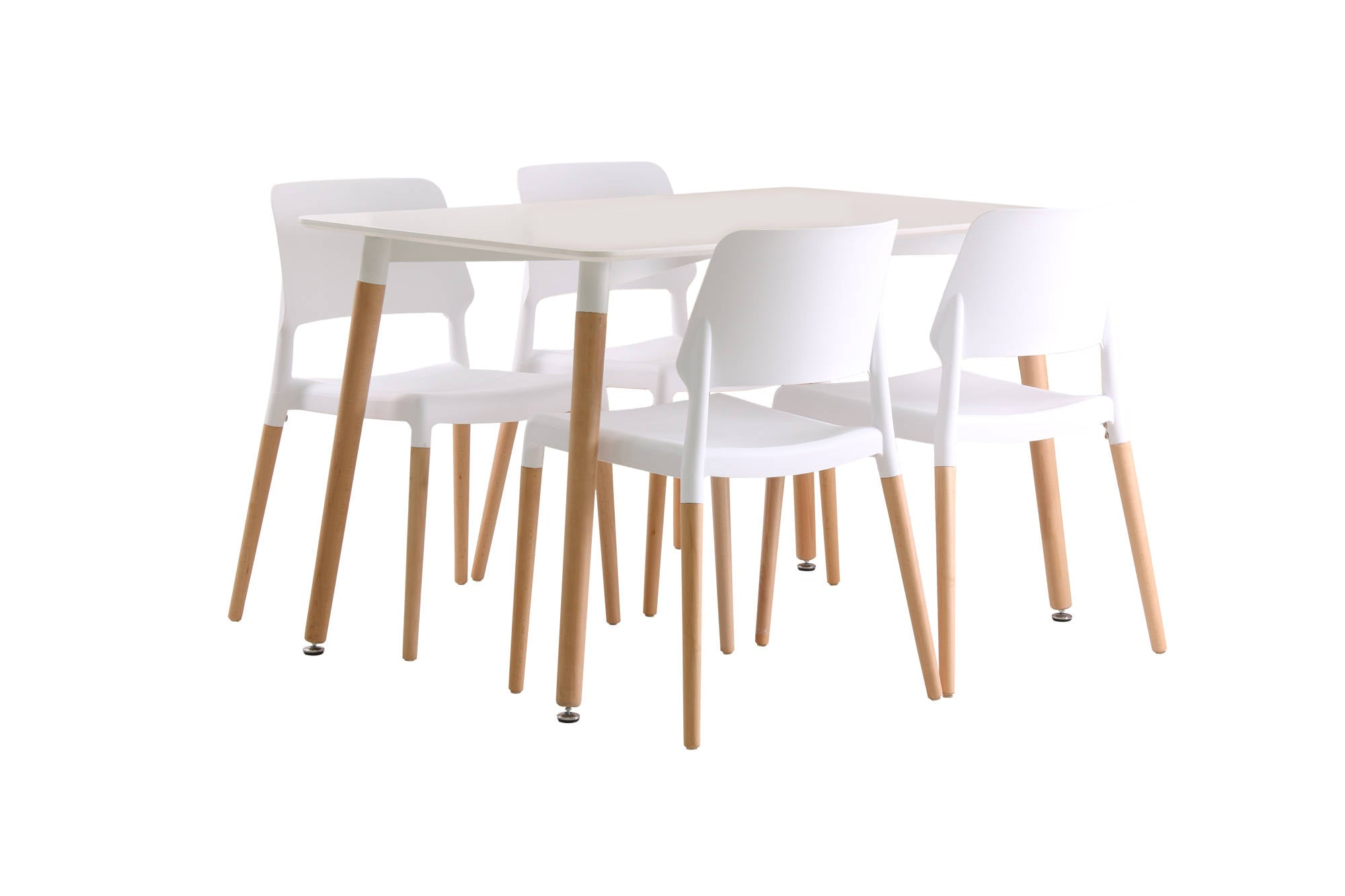 Herning Dining Table in White - Ezzo