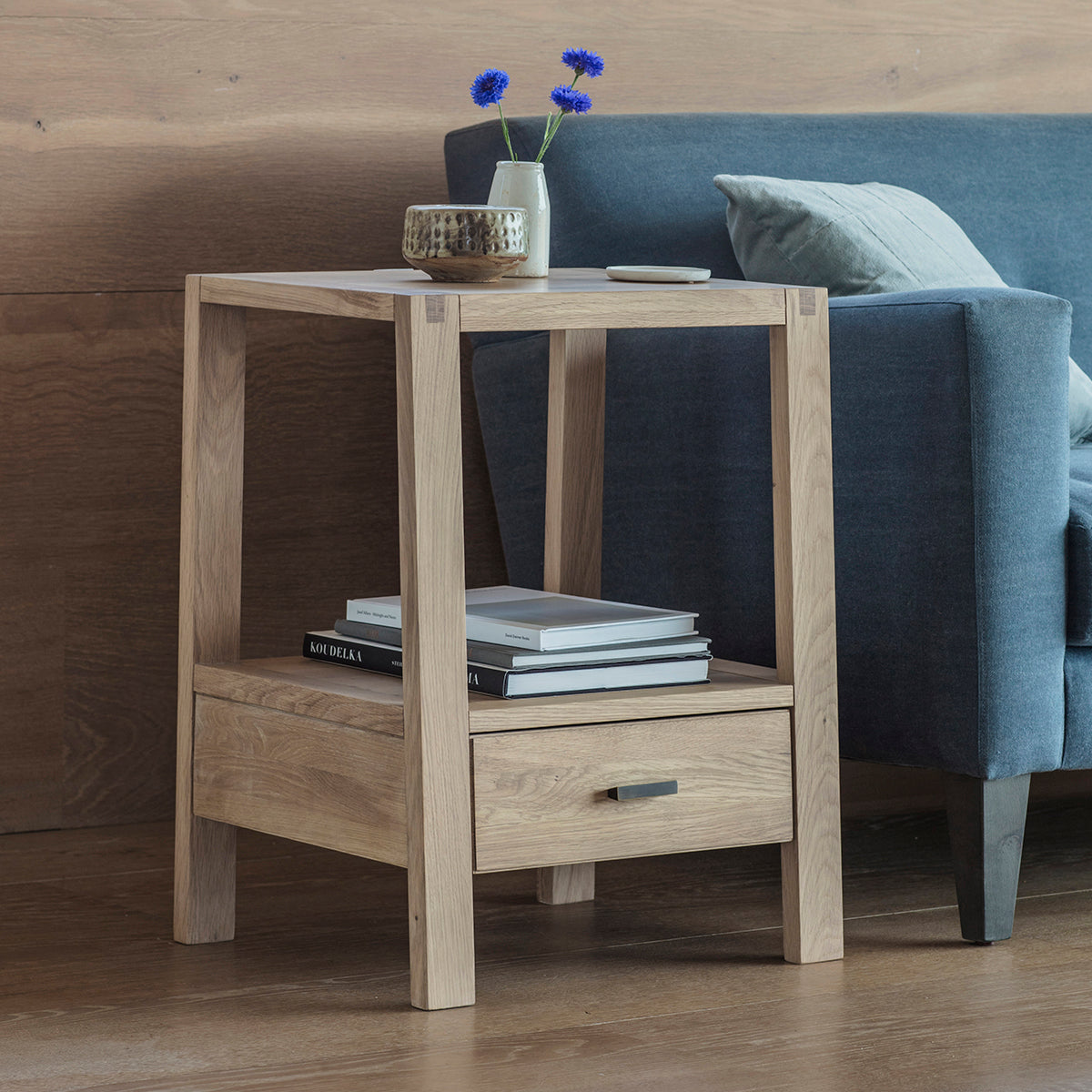 Hexham Bedside Table - Ezzo
