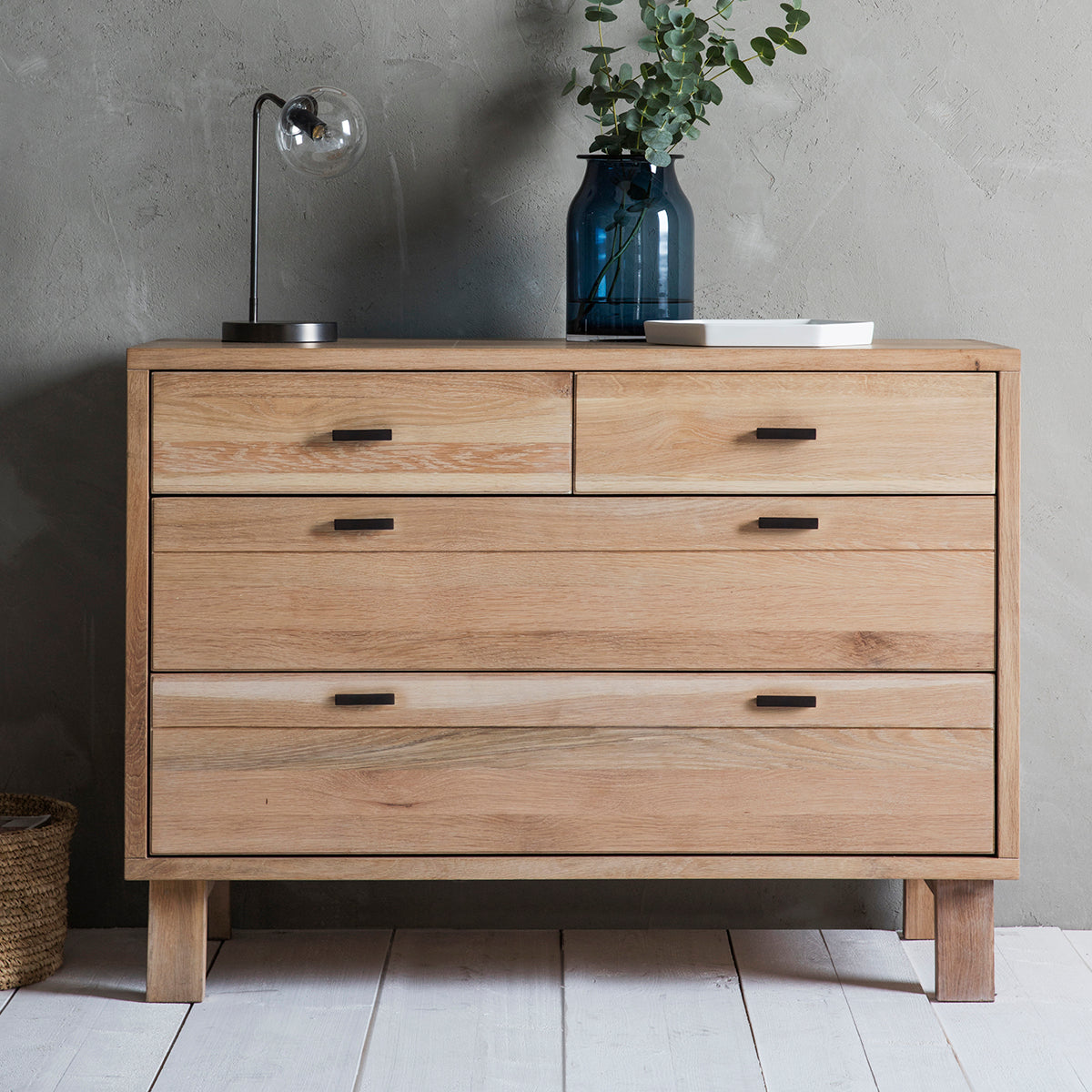 Hexham 4 Drawers Chest - Ezzo