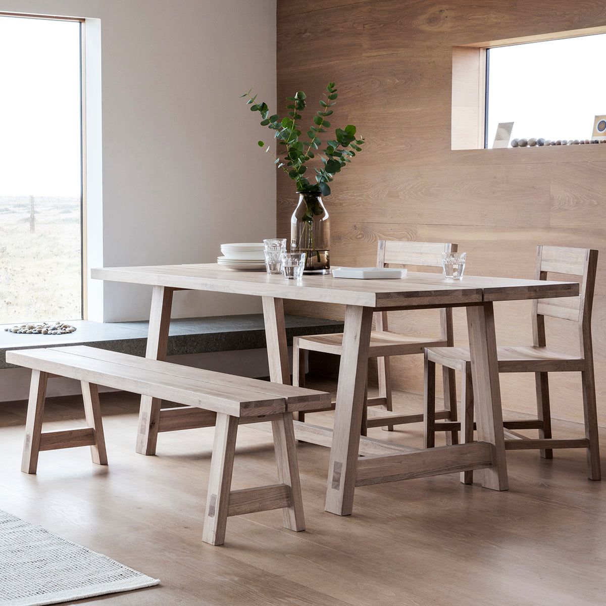 Hexham Large Dining Table - Ezzo