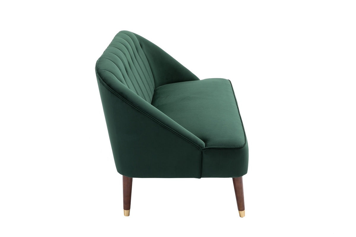 Honnold 2 Seater Sofa in Green - Ezzo