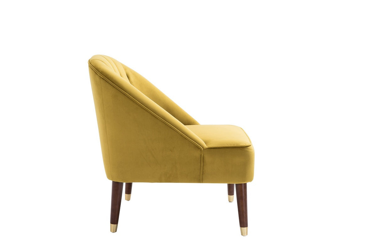 Honnold Chair in Mustard