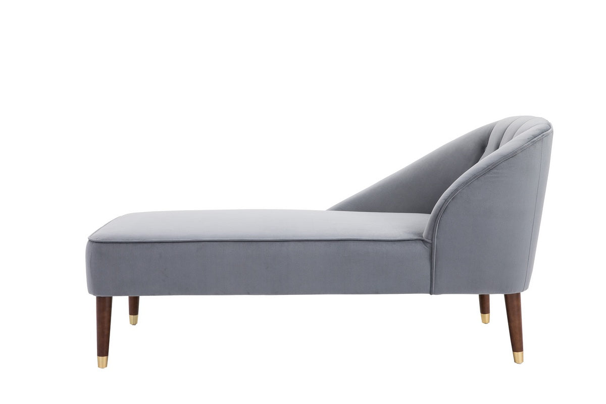 Honnold Chaise Longue in Grey - Ezzo