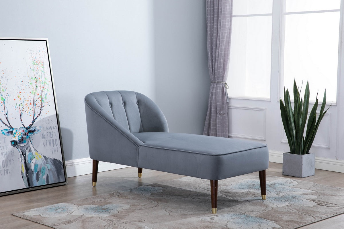 Honnold Chaise Longue in Grey