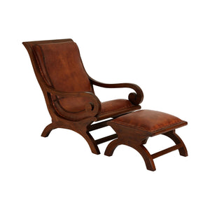 Inca Cocktail Chair With Footstool