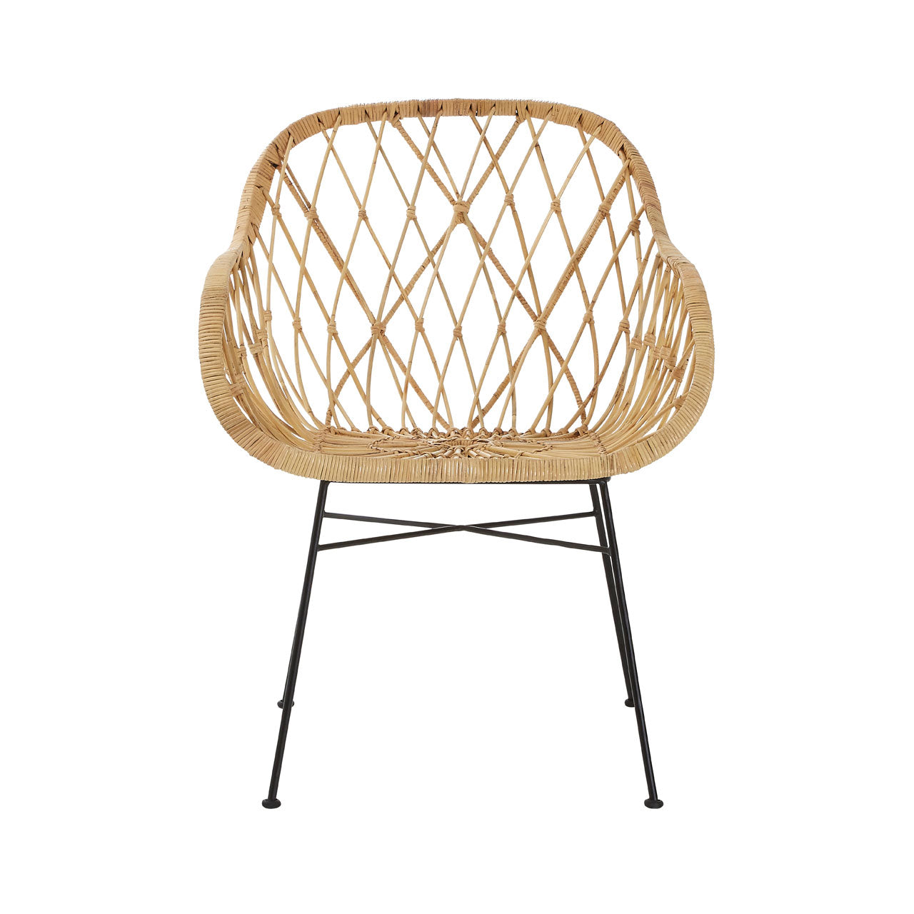 Java Flower Rattan Chair