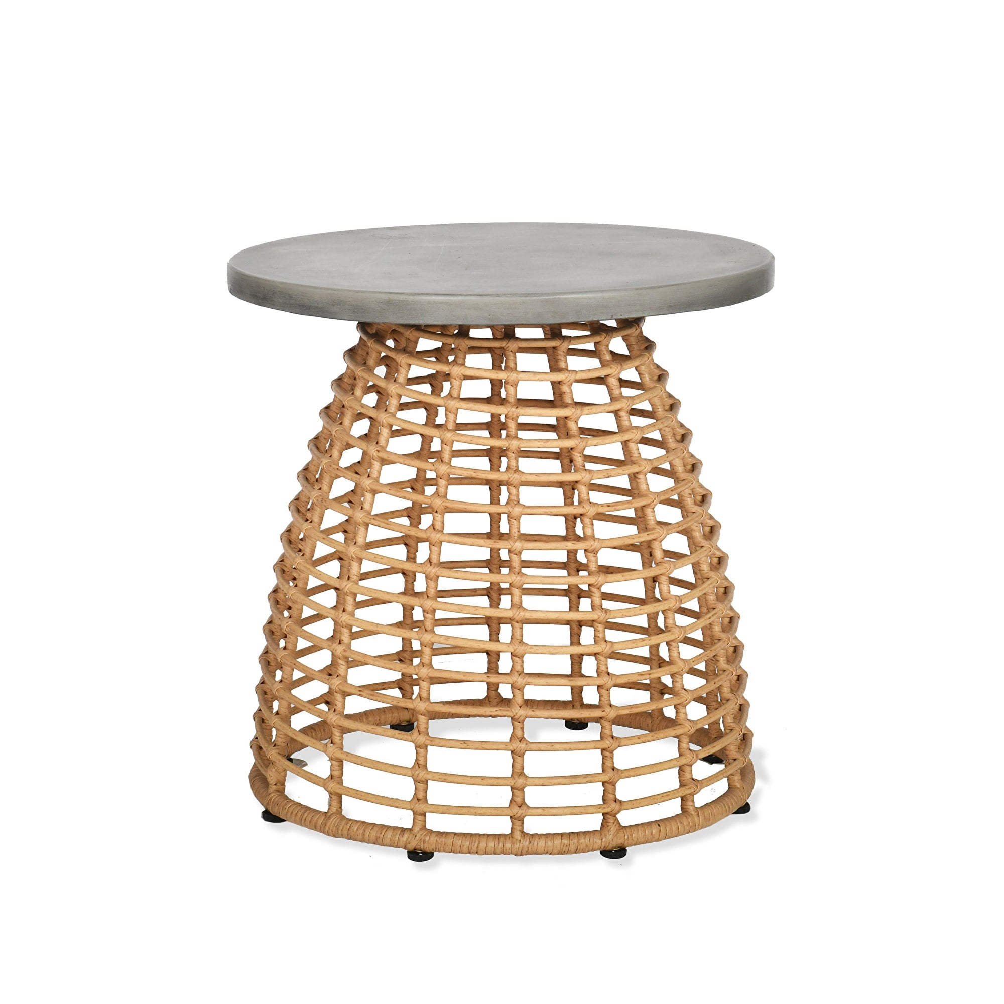 Keats Bamboo Side Table - Ezzo