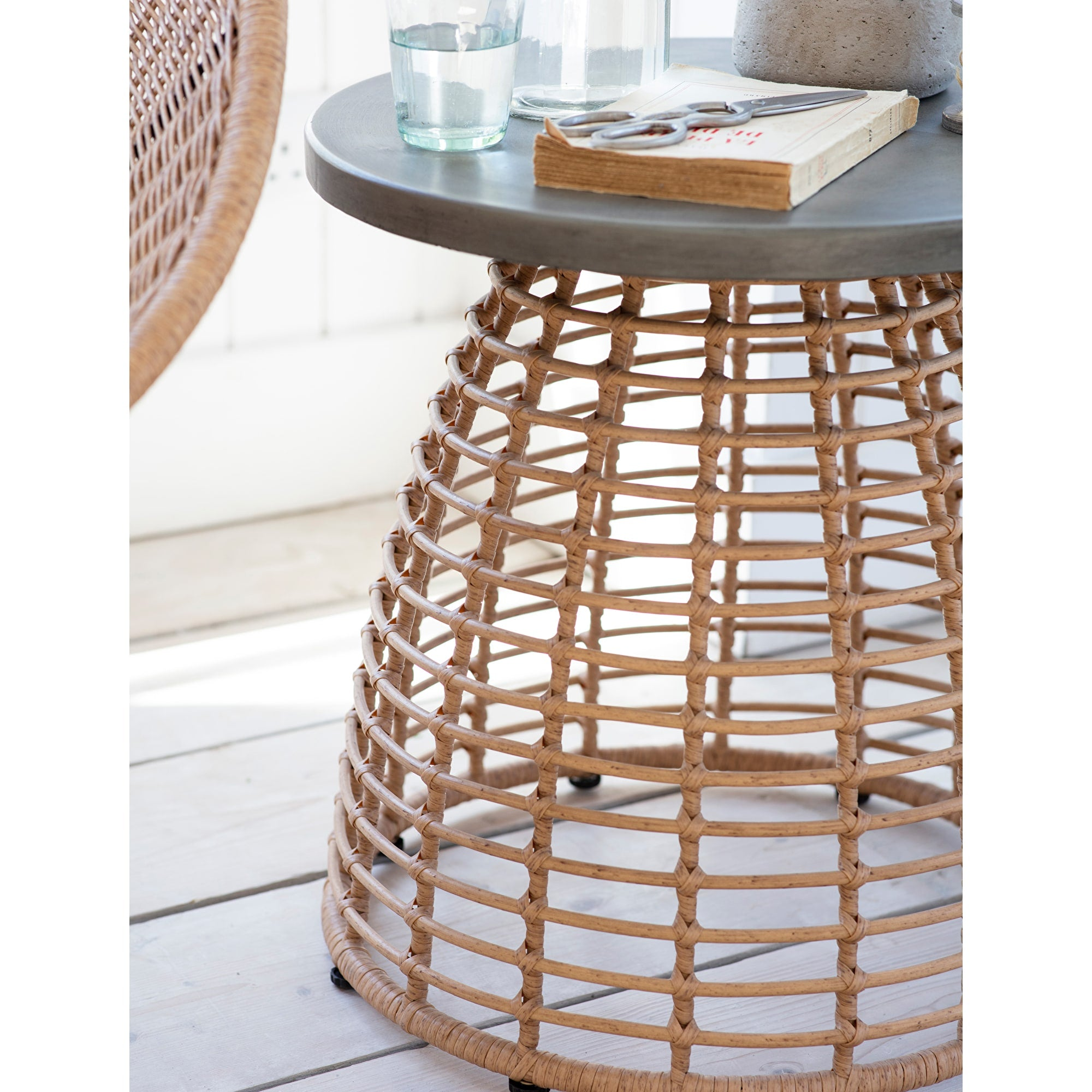 Keats Bamboo Side Table