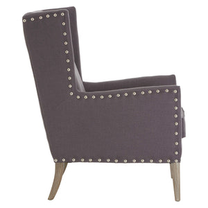 Kensington Townhouse Armchair Grey
