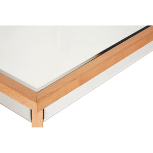 Kensington Townhouse Coffee Table Mirrored Finish