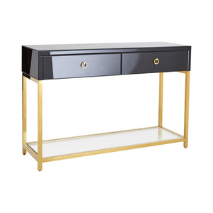Kensington Townhouse Console Table Gold