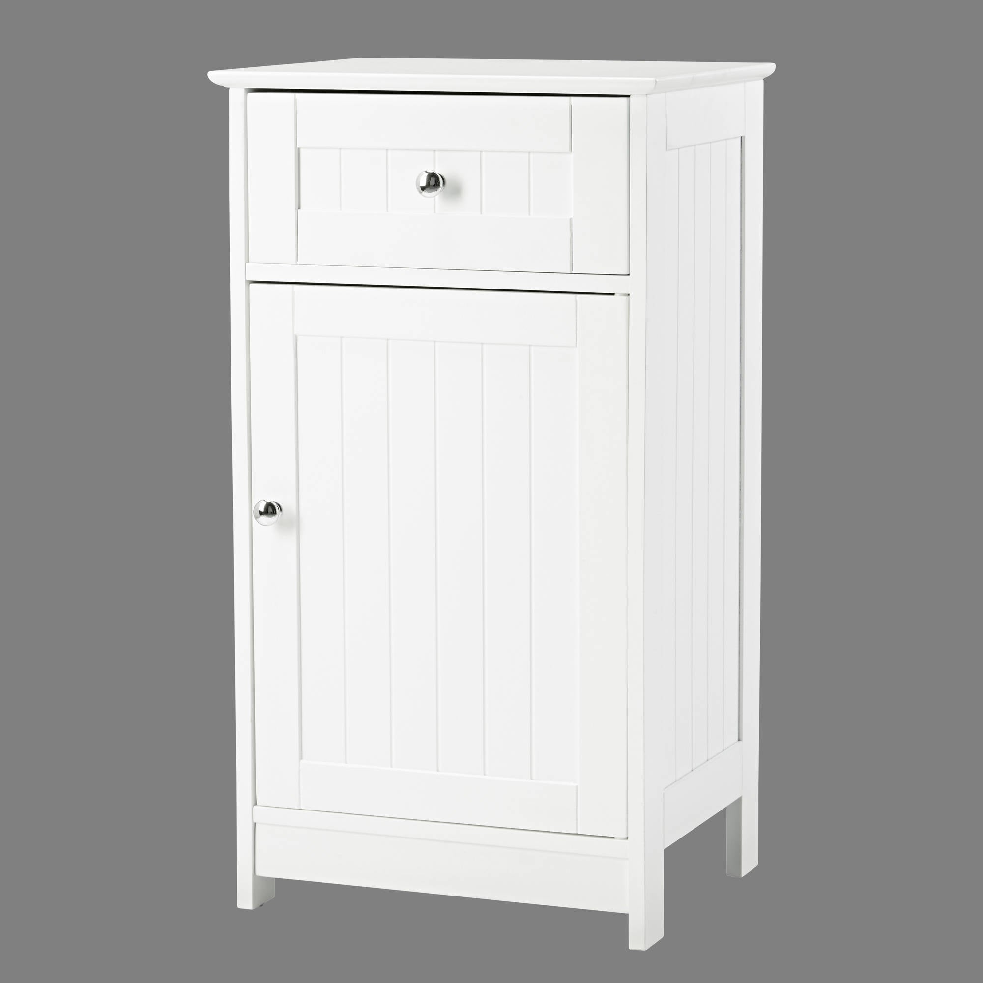 Kodiak White Low Storage Cabinet - Ezzo