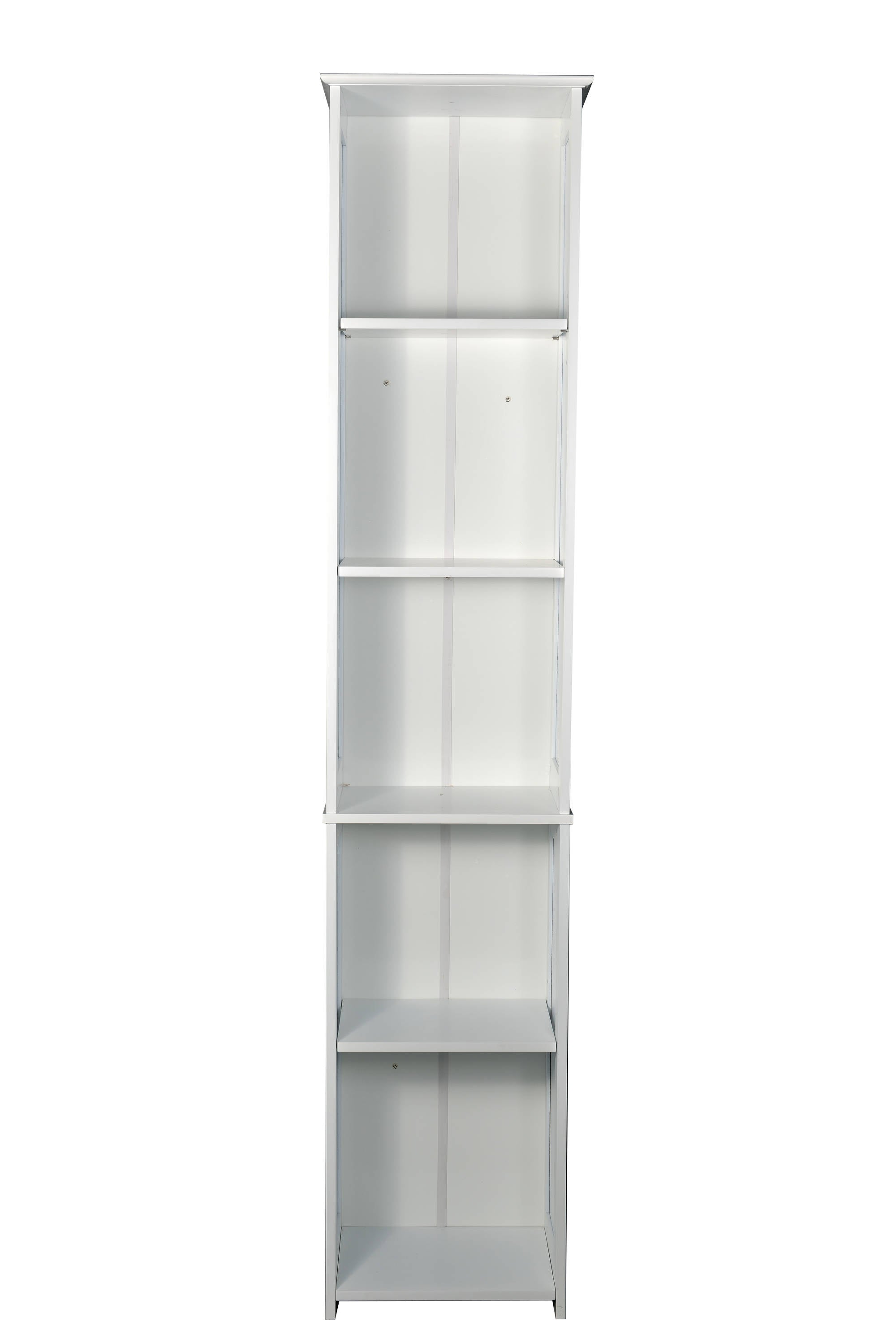 Kodiak White Tall Storage Unit - Ezzo