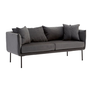 Kolding 2 Seat Sofa In Grey