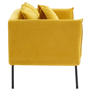 Kolding 2 Seat Sofa in Yellow