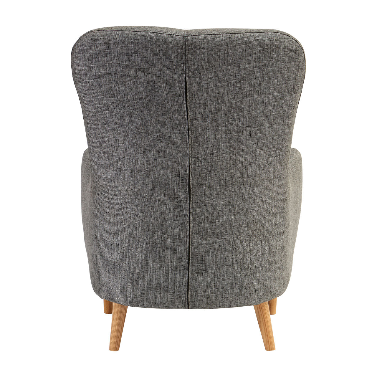 Kolding Grey Fabric Chair