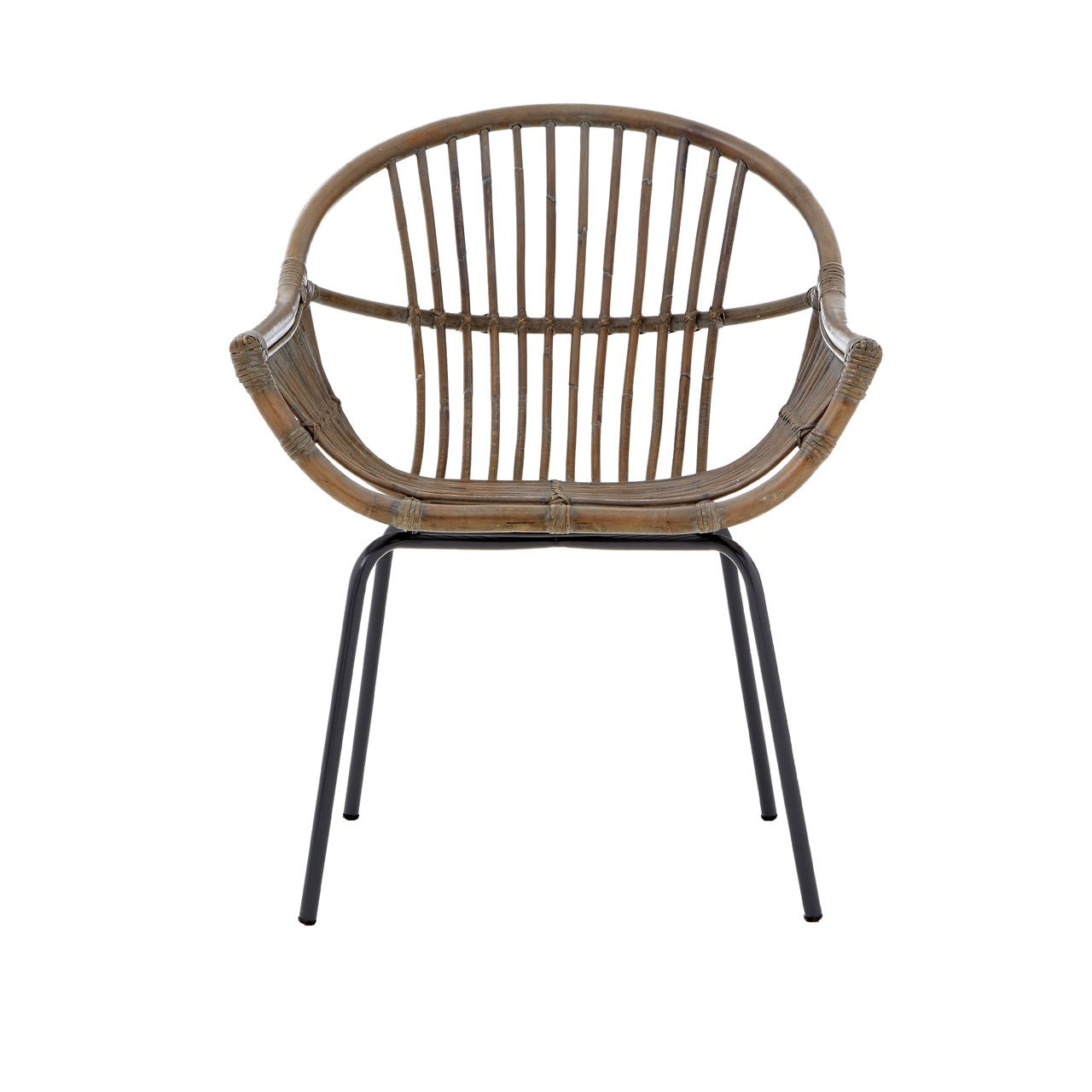 Lagom Grey Wash Rattan Chair