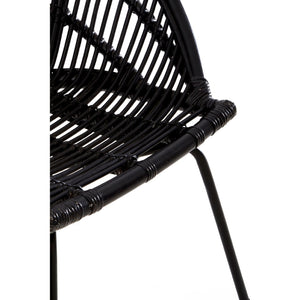 Lagom Black Retro Chair