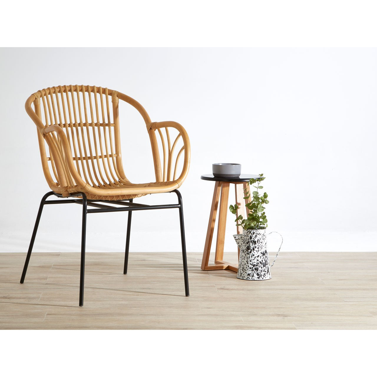 Lagom Fan Backed Rattan Chair