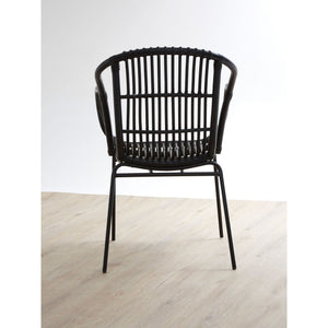 Lagom Chair in Black Iron