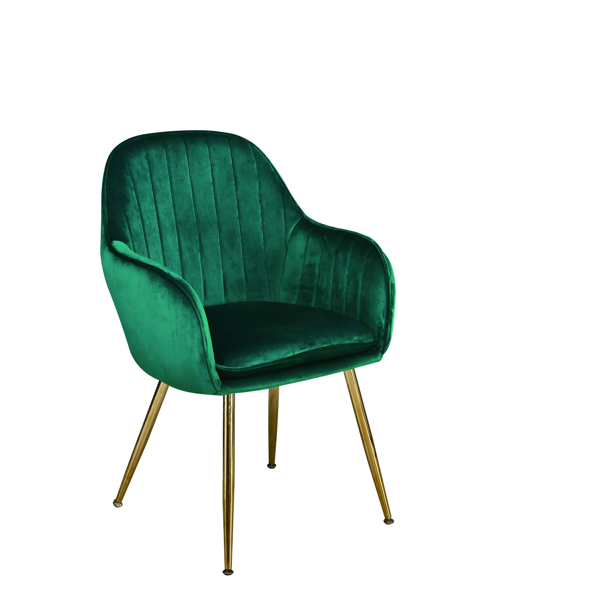 Lares Chairs in Forest Green - Ezzo