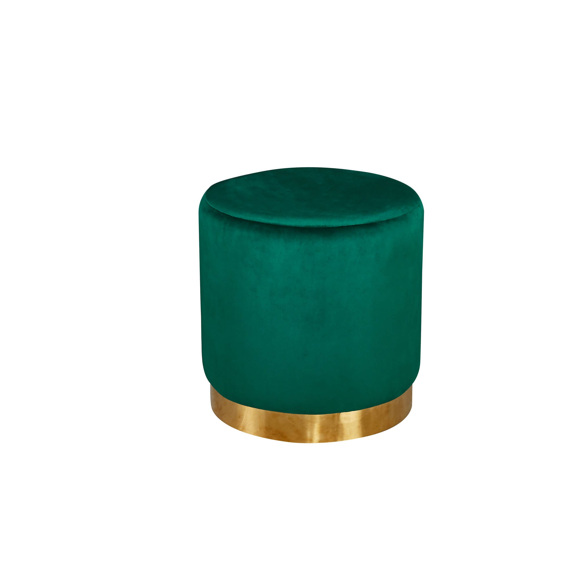 Lares Pouff in Forest Green - Ezzo