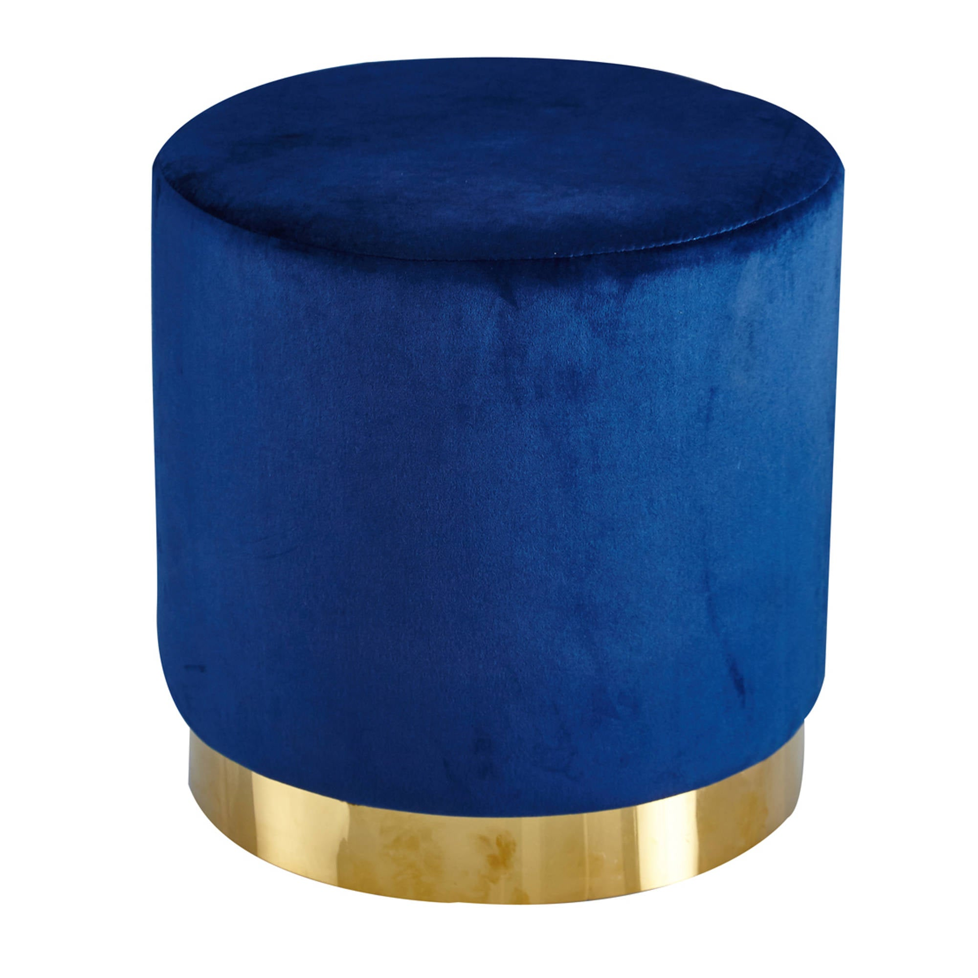 Lares Pouff in Royal Blue - Ezzo