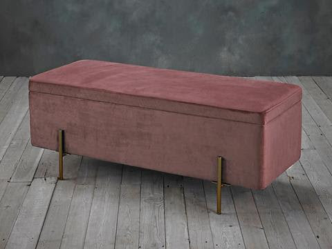 Layla Ottoman in Pink - Ezzo