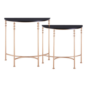 Lexa Half Round Console Tables