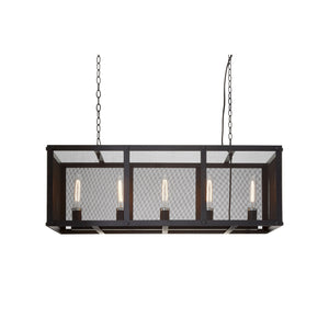 Lexington Box Framed Pendant Light