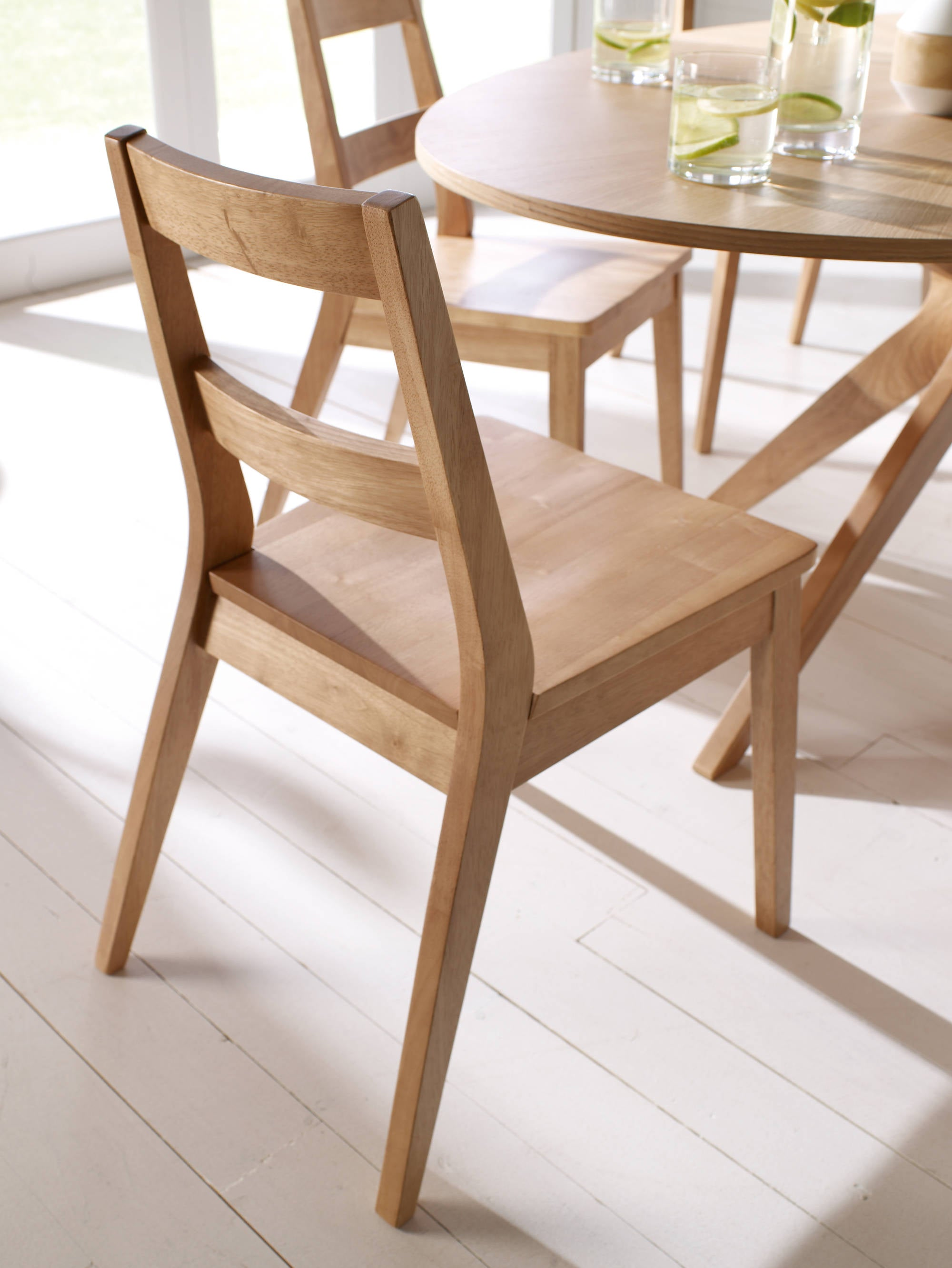 Lund Dining Chair Pair - Ezzo