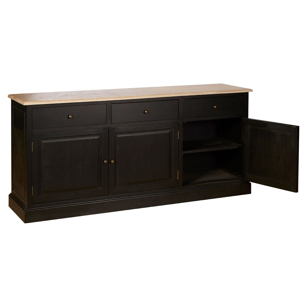 Lyon 3 Drawer Low Sideboard