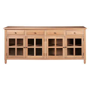 Lyon 4 Doors with 4 Drawers Sideboard
