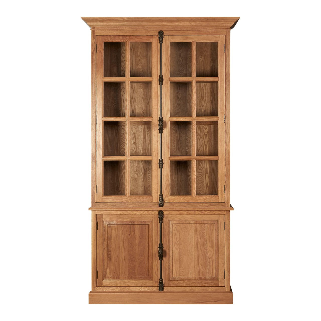 Lyon Cabinet With 3 Upper Shelves