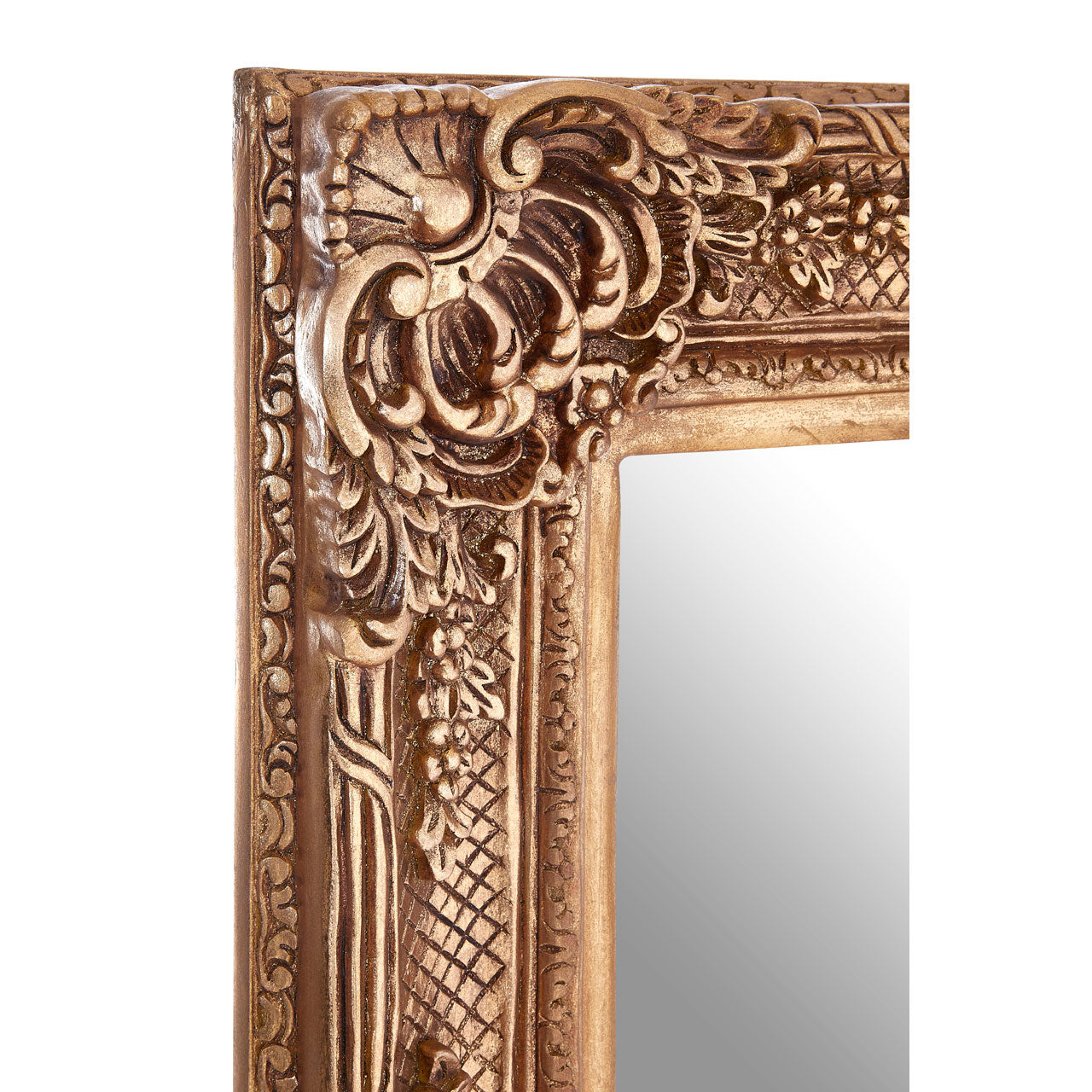 Marseille Neoclassical Wall Mirror Gold