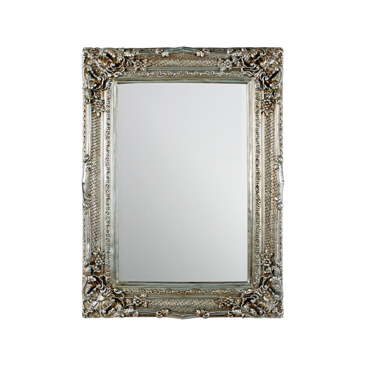 Marseille Diamond Wall Mirror Champagne
