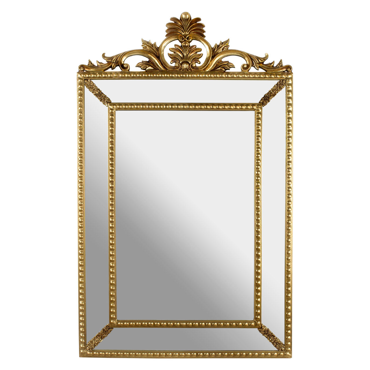 Marseille Crown Wall Mirror Gold