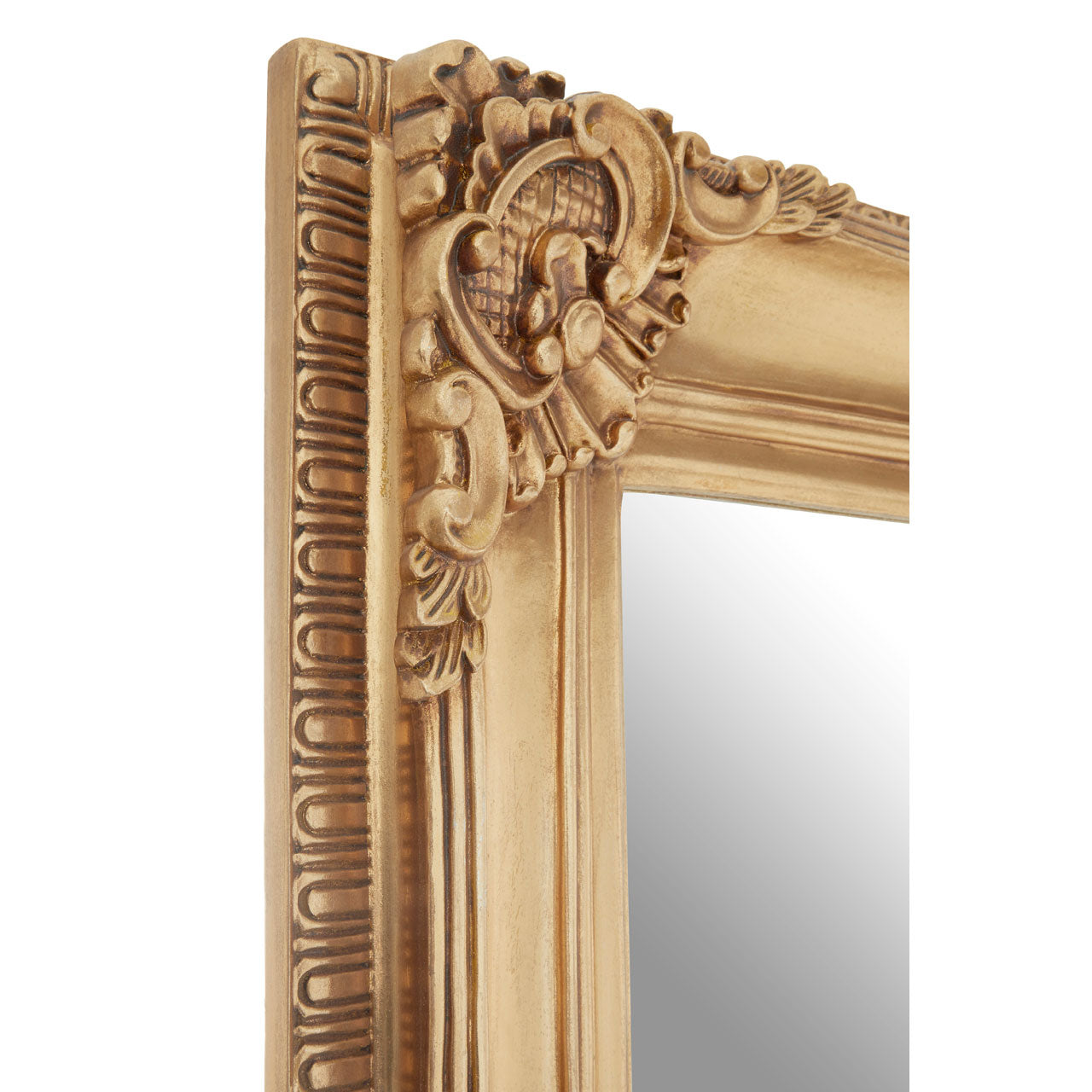 Marseille Motif Wall Mirror Gold