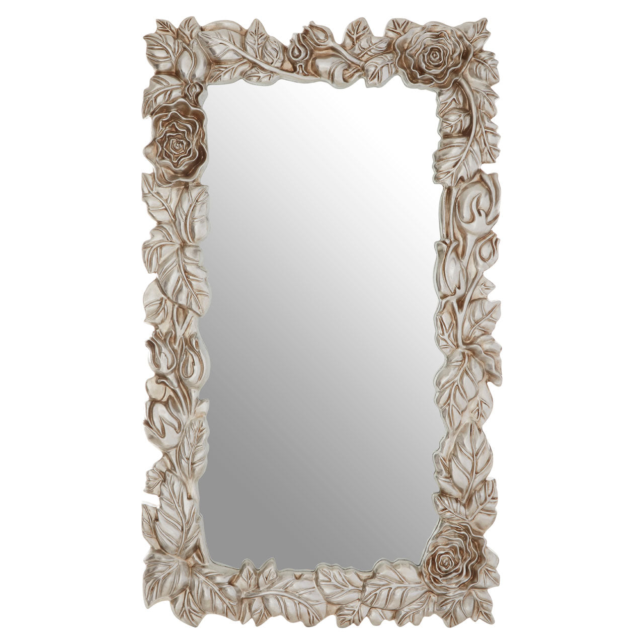 Marseille Leaf Wall Mirror Champagne