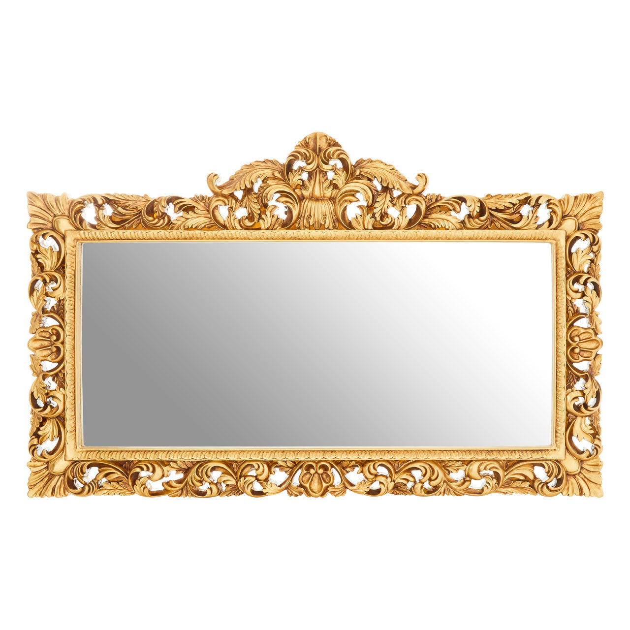 Marseille Buds Wall Mirror Gold