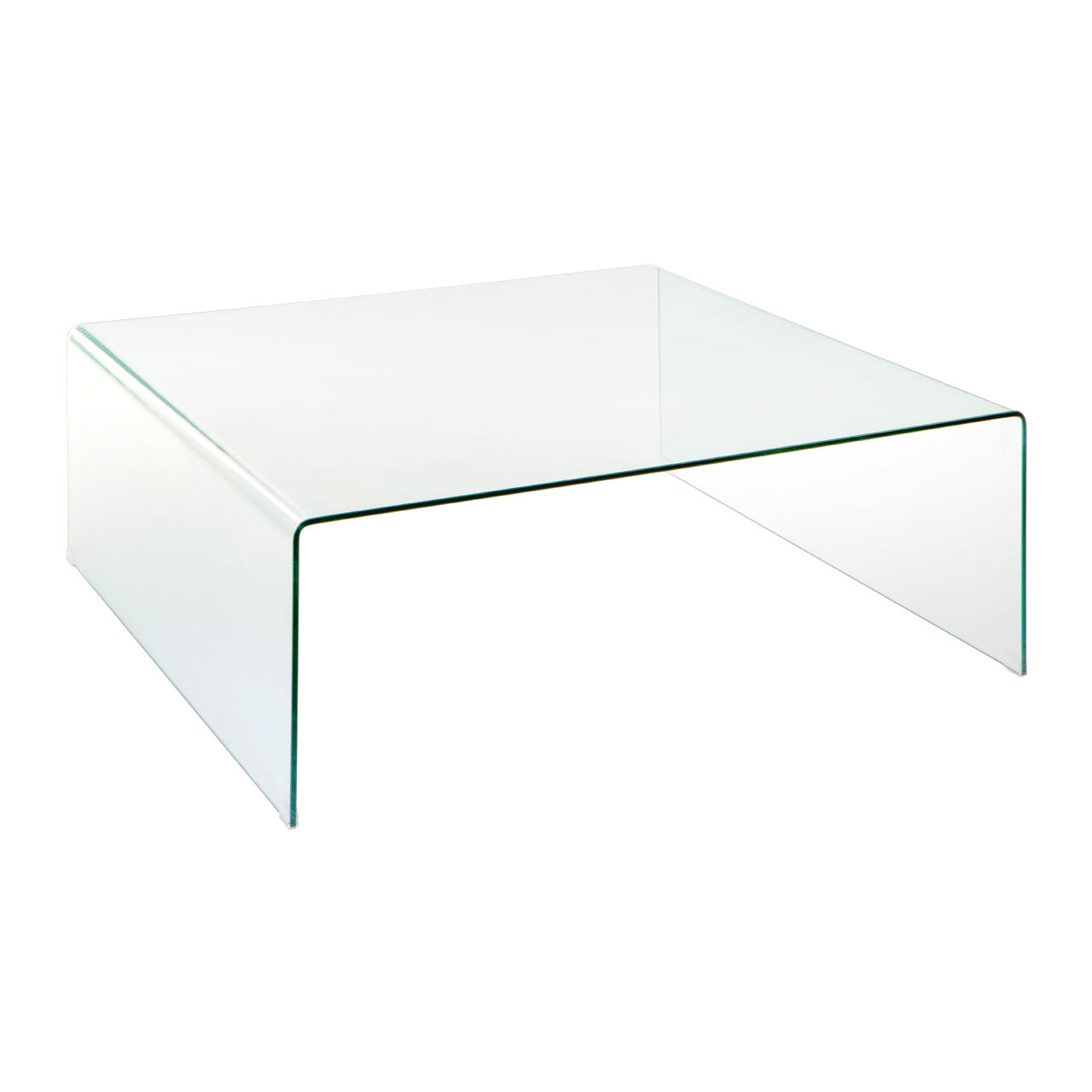 Matrix Curved Glass Coffee Table
