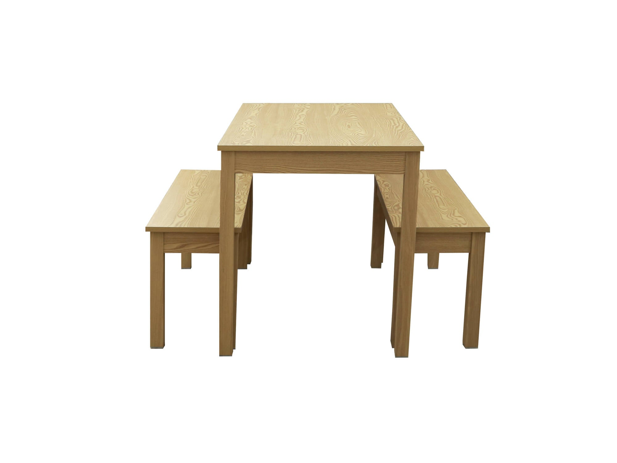 Medina Dining Set in Oak - Ezzo