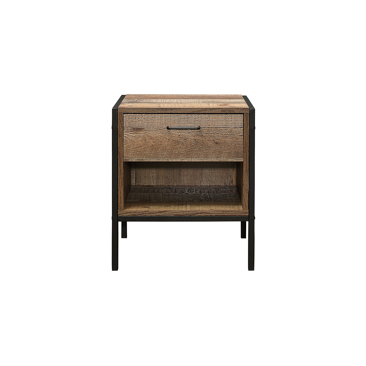 Metro 1 Drawer Bedside Table - Ezzo